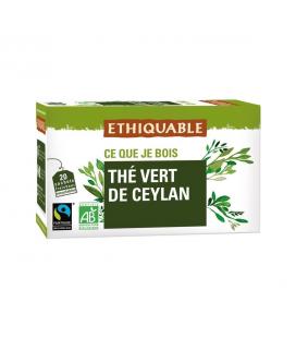 Thé vert de Ceylan bio & équitable
