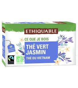 Thé vert jasmin bio & équitable