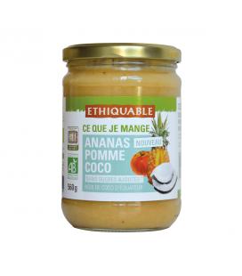 Purée ananas, pomme & coco bio et équitable