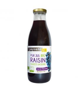 Pur jus de raisin de Monflanquin bio & équitable