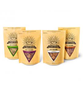 Pack 4 granolas Les Fruits Détendus bio, cru & vegan