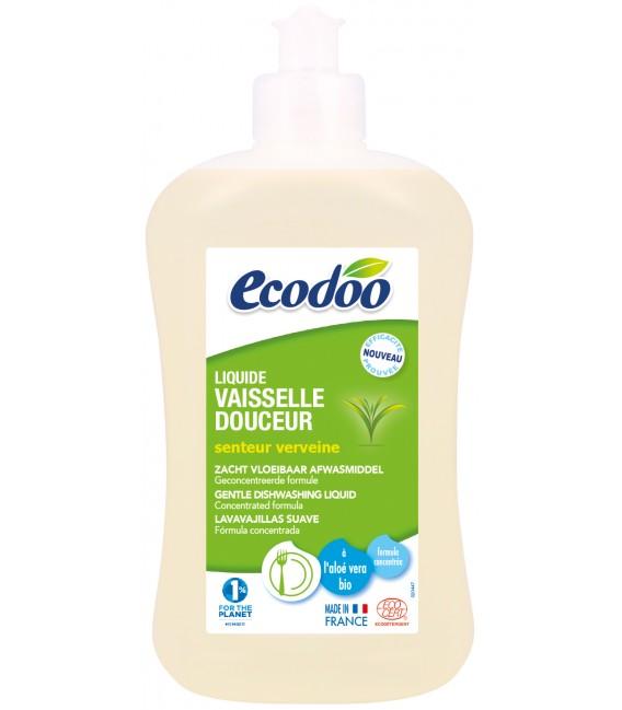 Liquide vaisselle douceur écologique bio à l'aloe vera - 500 ml