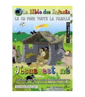 La bible des enfants jésus est né - Le CD pour toute la famille.
