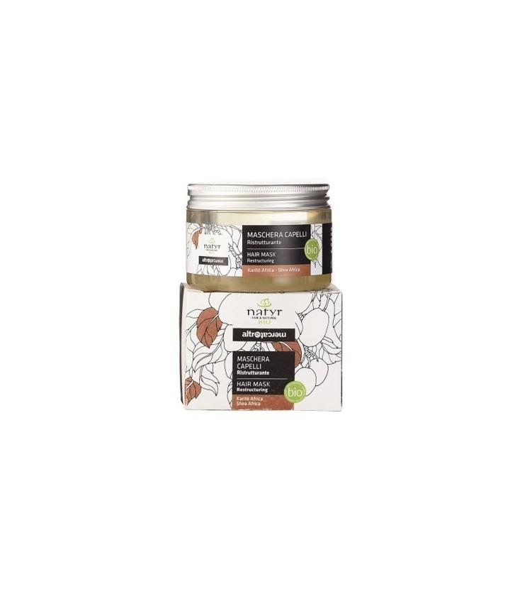 Masque capilllaire(après-shampoing) bio au Karité et à l'amande douce