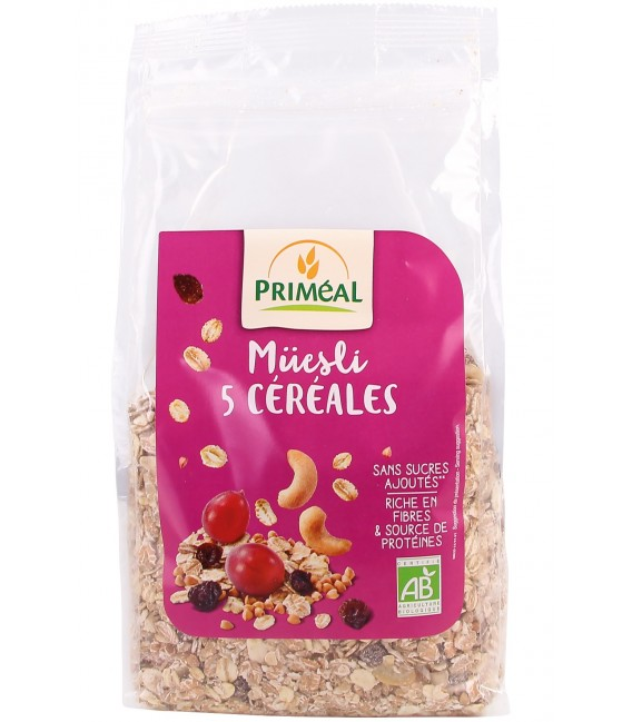 Müesli 5 céréales bio