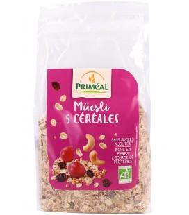 Muesli 5 céréales bio en vrac