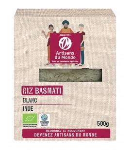 Riz Basmati blanc bio & équitable