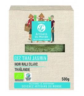 Riz Thaï Jasmin Blanc HOM MALI bio & équitable 500g