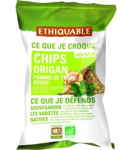 Chips Origan de Pomme de Terre Rouge - bio & équitable
