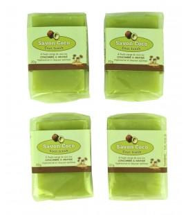 Mini savons d'invités concombre-amande