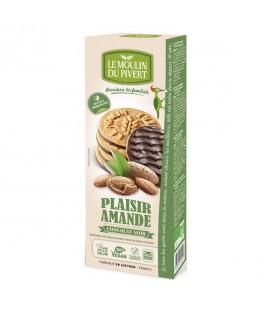 Biscuits Plaisir Amande Chocolat Noir Bio