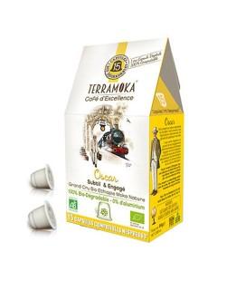 DATE PROCHE - Capsules biodégradables de café bio OSCAR x15