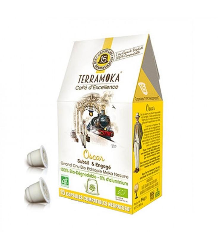 Capsules biodégradables de café ADELE