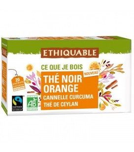Thé noir orange, et aux épices bio & équitable