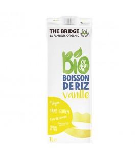 Boisson végétale de riz et de vanille bio