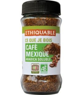 Café Mexique soluble bio & équitable