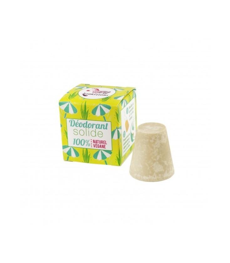 Déodorant solide à l'huile de palmarosa