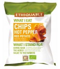 Chips hot pepper red potato bio & équitable