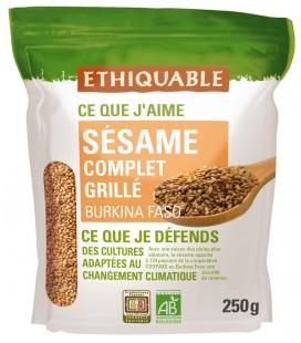 Graine de Sésame complet Grillé bio & équitable
