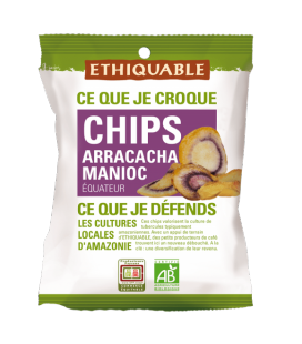 Chips Arracacha Manioc bio & équitable
