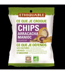 DATE PROCHE - Chips Arracacha Manioc bio & équitable