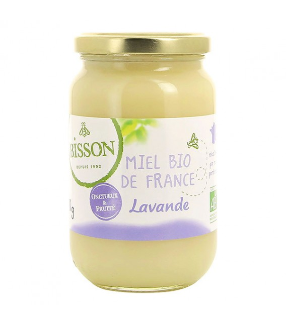Miel de Lavande bio de France, 500g