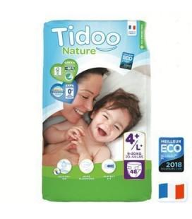 Couches écologiques Jumbo Pack (x50) - T4/L+ (9 à 20 kg)