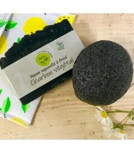 Savon charbon végétal Bio