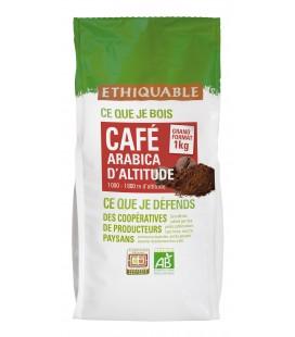 Café 1 kg Pérou MOULU bio & équitable