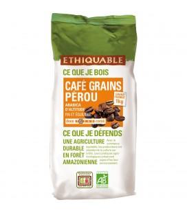 Café 1 kg Pérou GRAINS bio & équitable