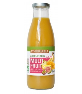 Pur Jus Multi Fruits bio et équitable