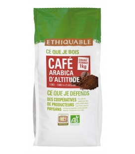 Café Congo 1 Kg GRAINS bio & équitable