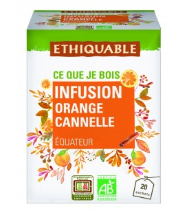 Infusion Orange Cannelle Bio & Equitable