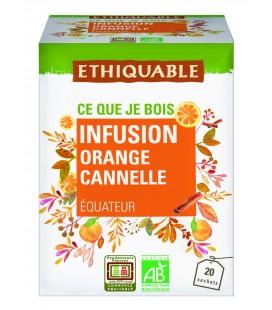 Rooibos vanille cannelle bio & équitable