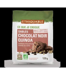 Sablés Chocolat noir Quinoa bio & équitable