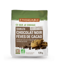 Sablés Chocolat noir Fèves de Cacao bio & équitable