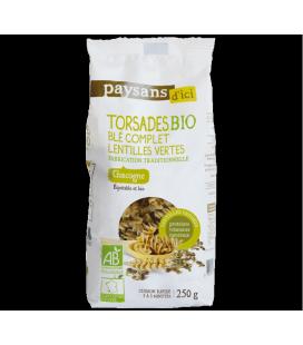 PROMO - Torsades Blé complet Lentilles Vertes Bio & Equitable