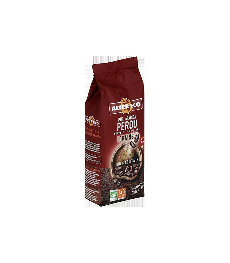 Café GUATEMALA en grain bio et équitable 500 gr