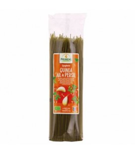 Spaghetti blé & quinoa, ail & persil