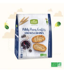 DATE PROCHE - Petits Pains Grillés Céréales & Graines bio & vegan