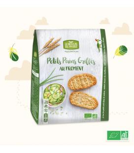 DATE PROCHE - Petits Pains Grillés Froment bio & vegan