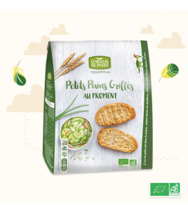 PROMO - Petits Pains Grillés Froment bio & vegan