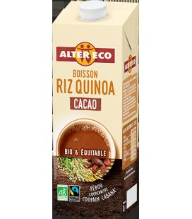 Boisson végétale au riz quinoa cacao bio & équitable