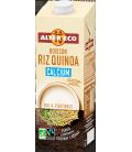Boisson végétale au riz quinoa calcium bio & équitable