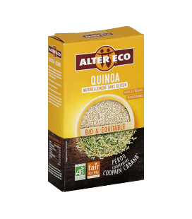 Quinoa blond bio & équitable