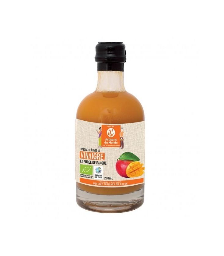Vinaigre et purée de Mangue Bio