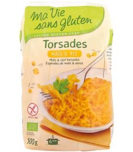 Torsades maïs riz bio & sans gluten