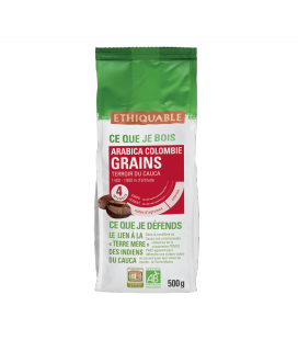 Café Colombie GRAINS bio & équitable - 500 g