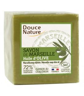 Savon de Marseille vert cuit au chaudron
