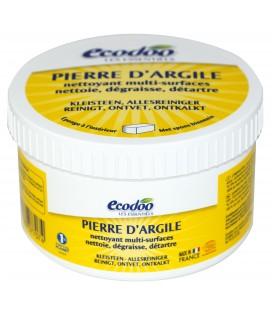 Pierre d'Argile écologique avec éponge (nettoie, dégraisse, détartre)